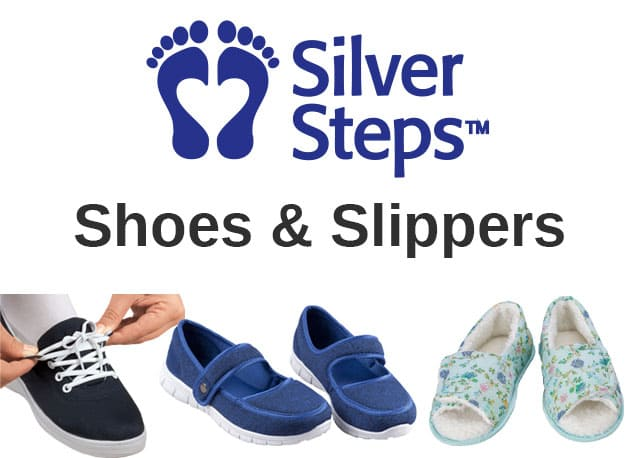 Shoes & Slippers by Silver Steps