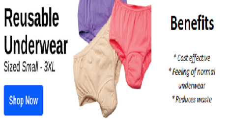 Shop Washable Incontinence Products