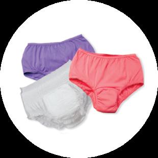 Briefs, panties, & liners