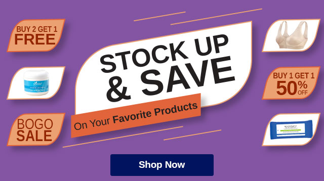 Shop Stock Up & Save