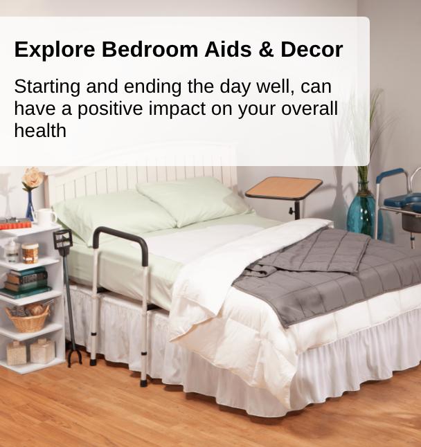 Explore Bedroom Aids & Decor