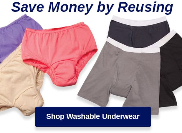 Shop Washable Underwear