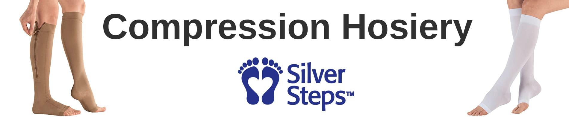 Compression Hosiery by Silver Steps