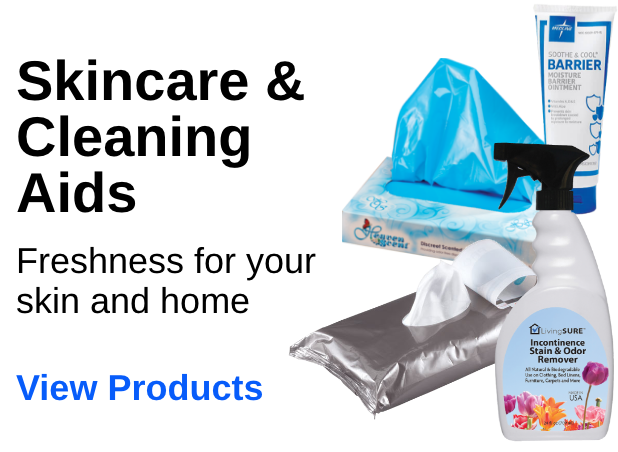Skincare & Cleaning Aids - Freshness for your skin and home