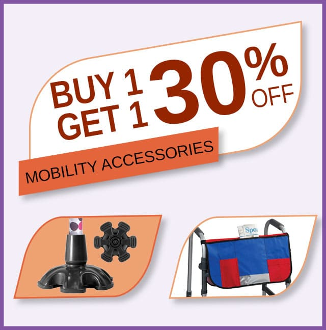 Buy 1 Get 1 30% Off Mobility Accessories