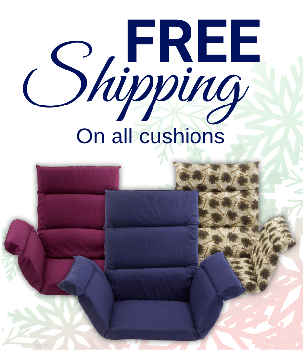 FREE shipping on all cushions