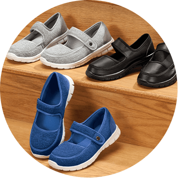 Silver Steps Shoes & Slippers