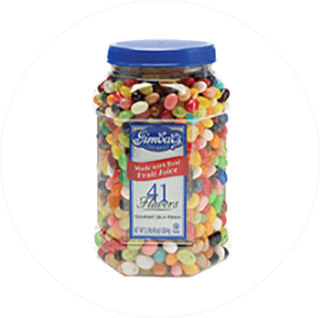 Gimbal's Jelly Bean Jar