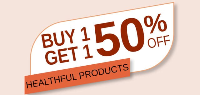 Buy 1 Get 1 50% Off Healthful Naturals