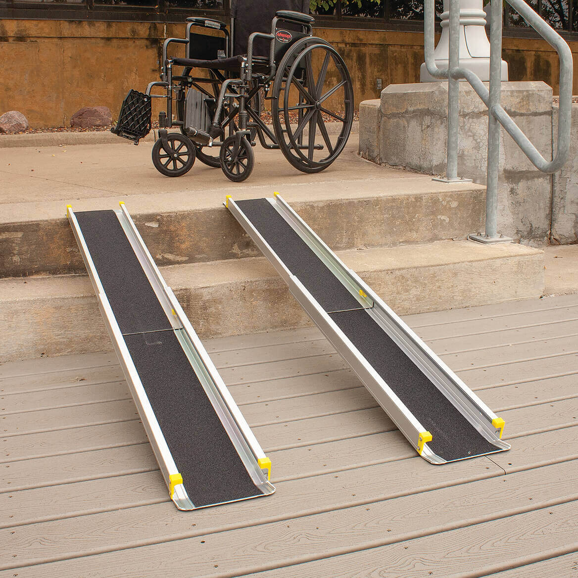 Telescoping Wheelchair Ramp-306933
