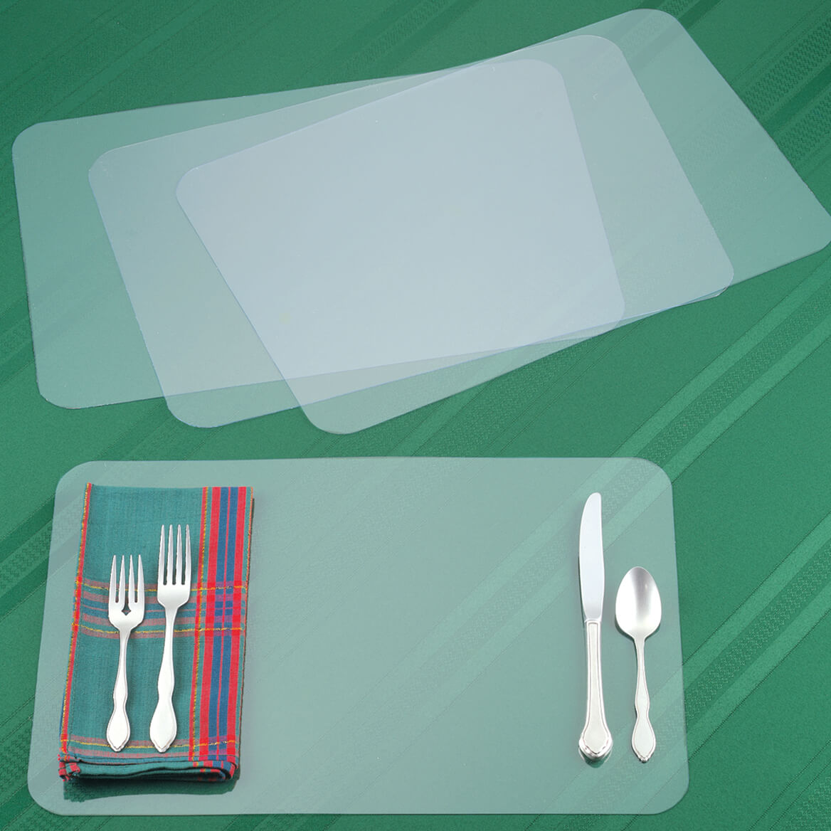 Clear Placemat Set/4-311564