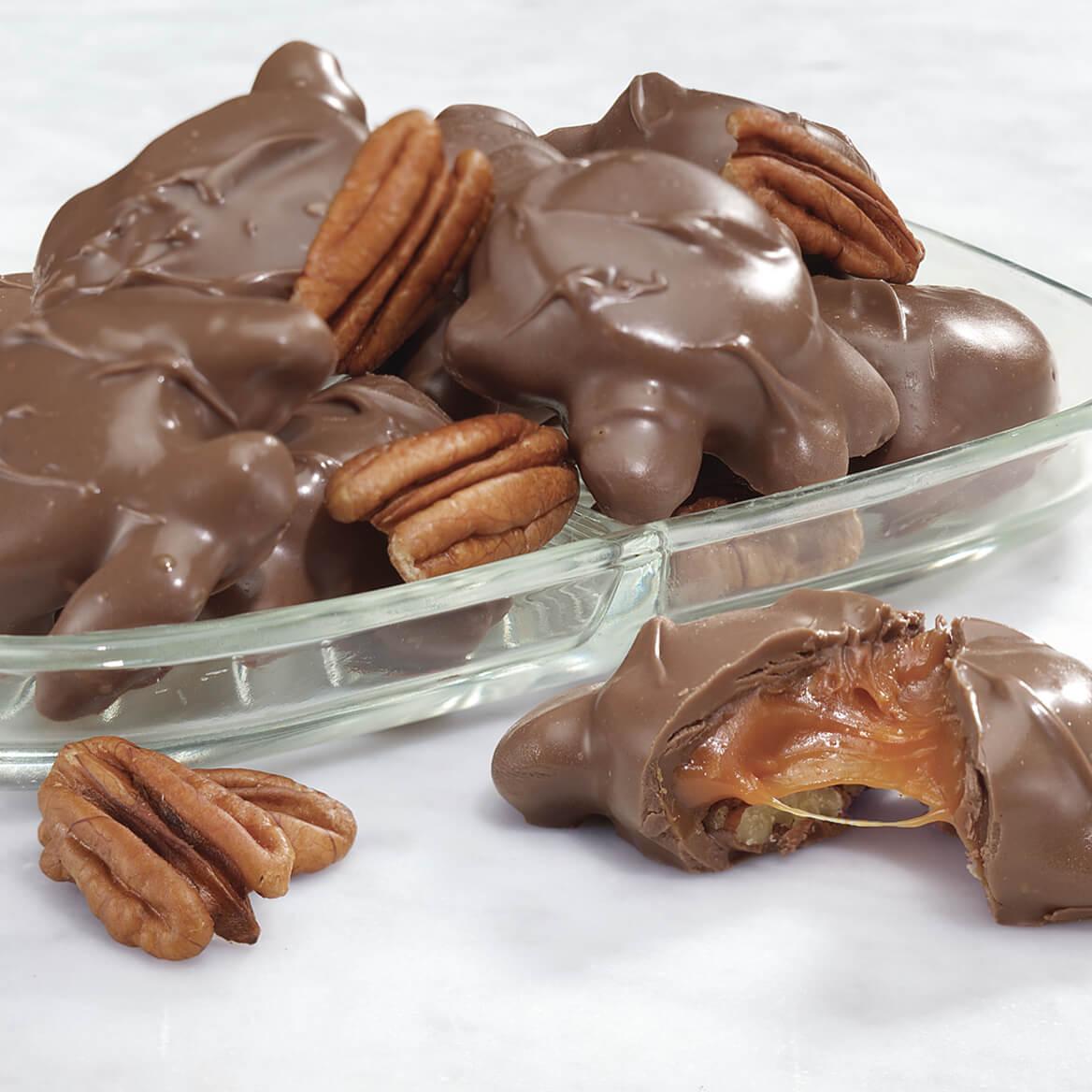 Milk Chocolate Pecan Caramel Patties 14 oz.-315102