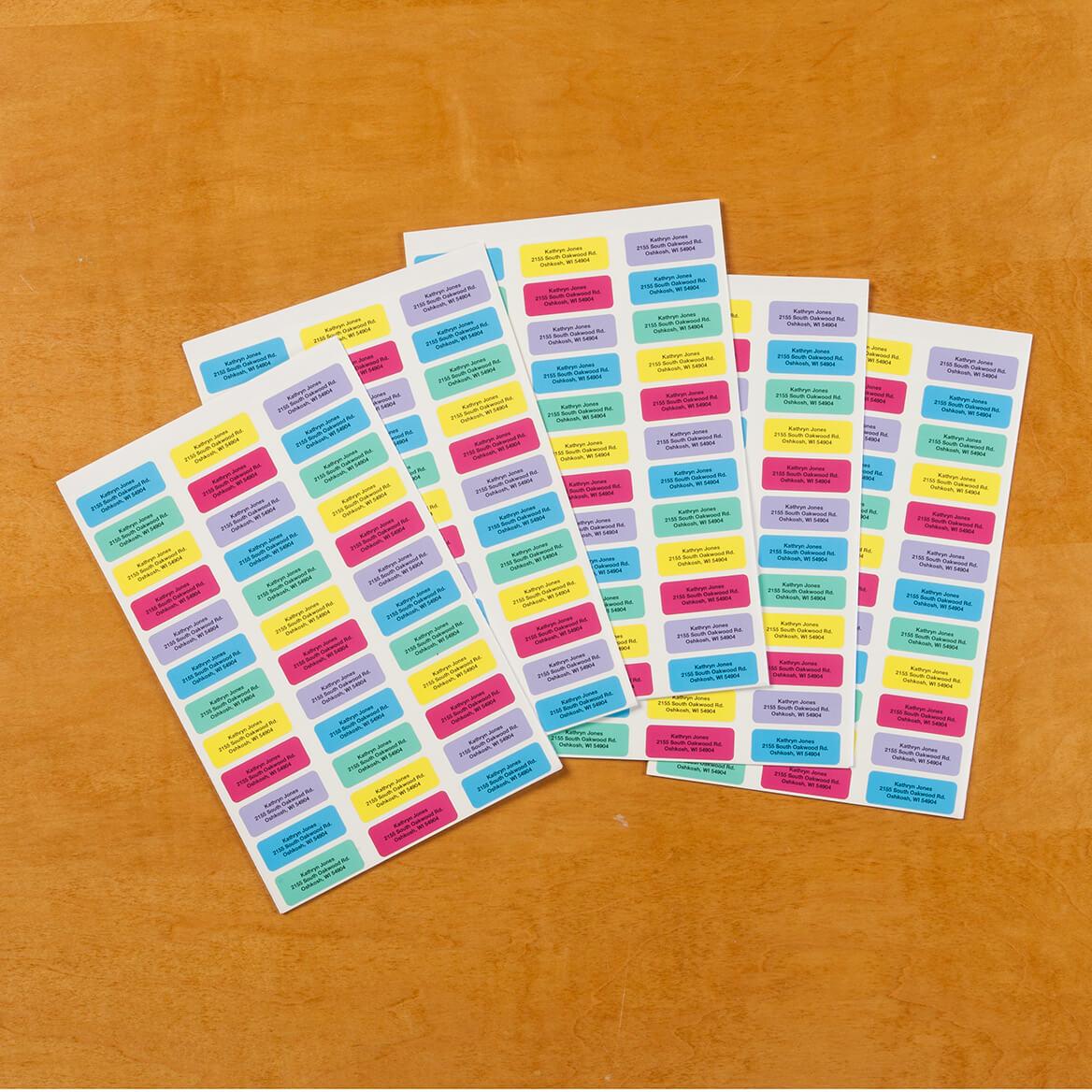 Personalized Block Labels Set/200-320115