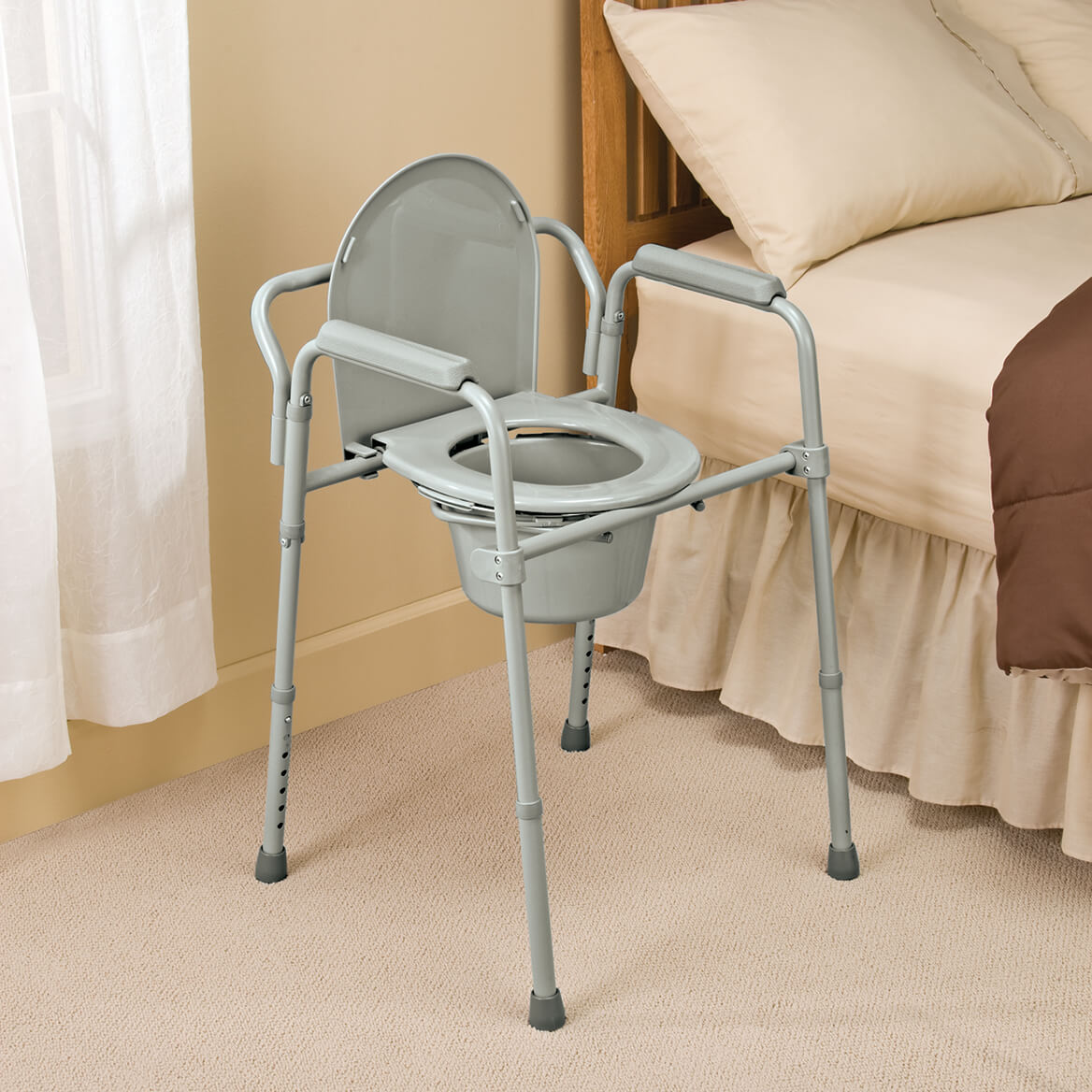 Bariatric Folding Commode-335207