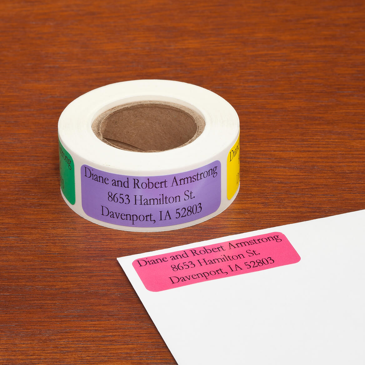 Personalized Large Print Address Labels - Set of 200-349048