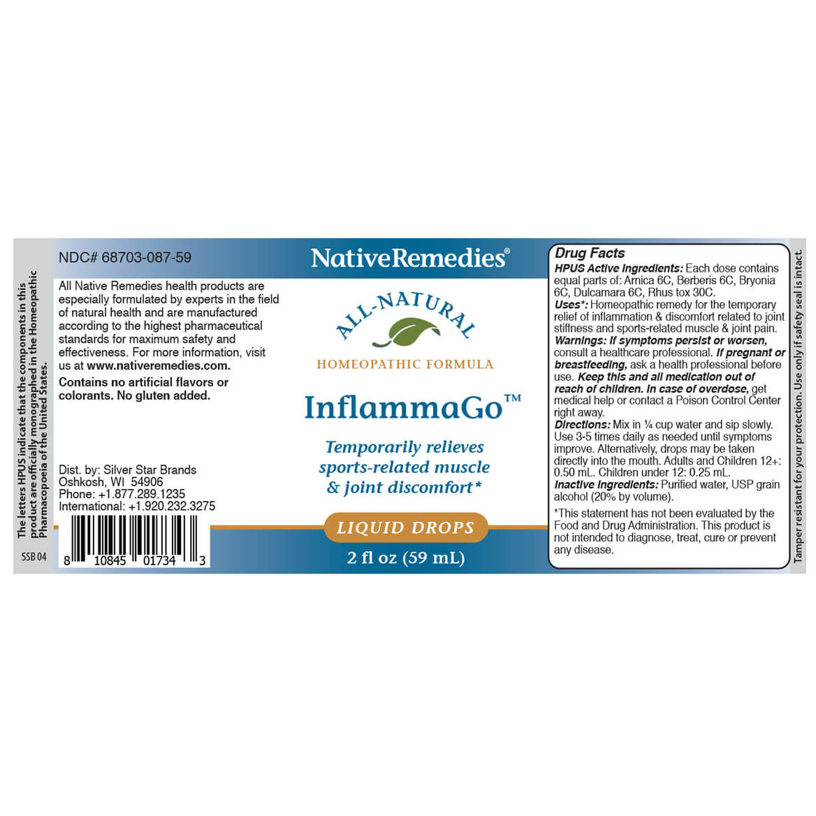 NativeRemedies® InflammaGo™-350106