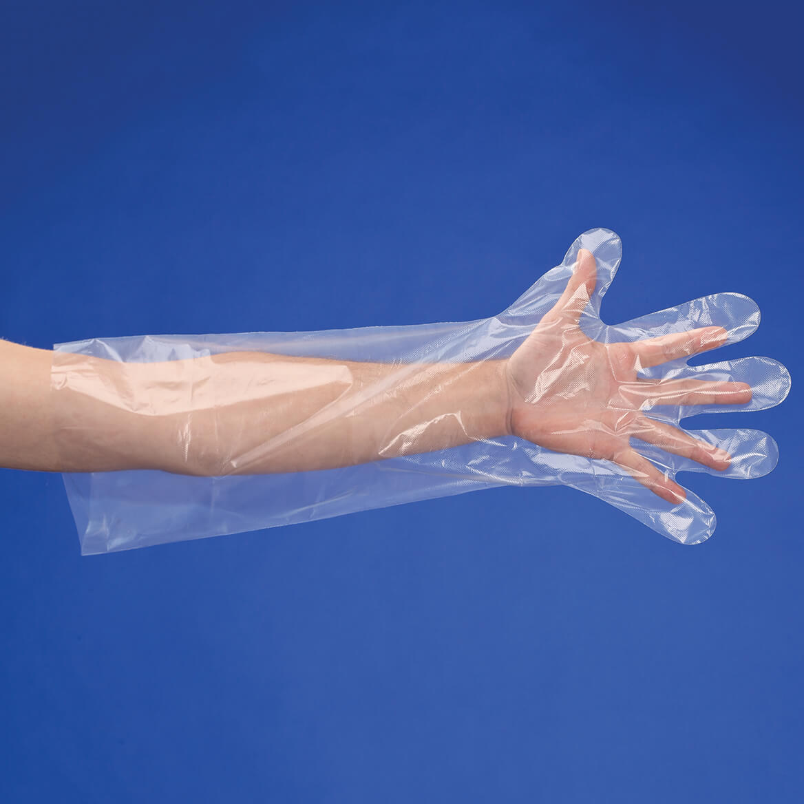 Long Arm Disposable Cleaning Gloves Set of 50-350420