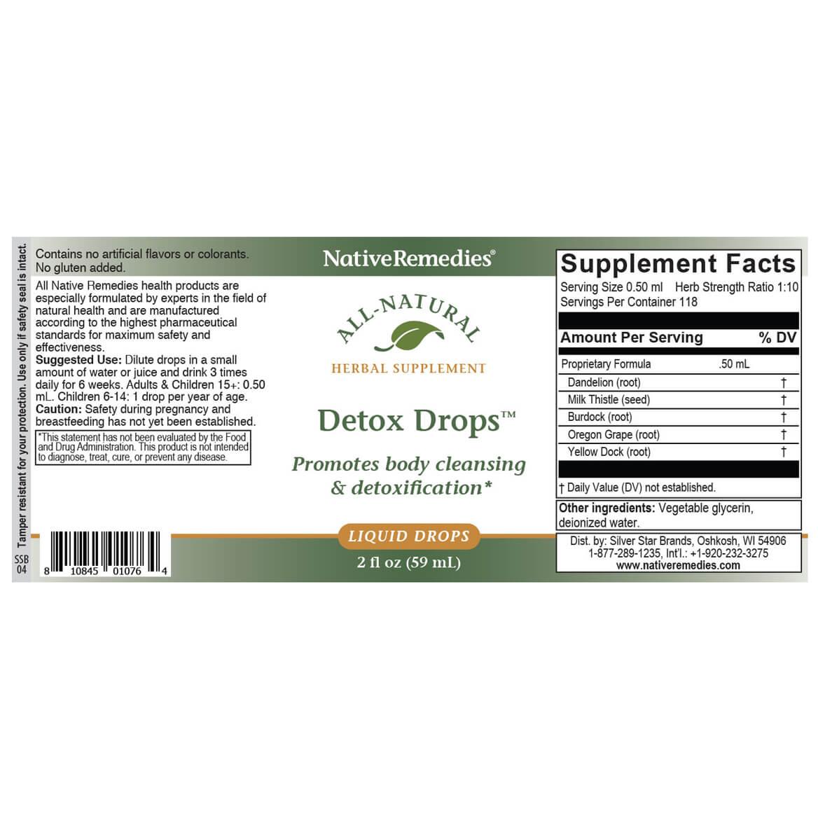 NativeRemedies® Detox Drops™-351039