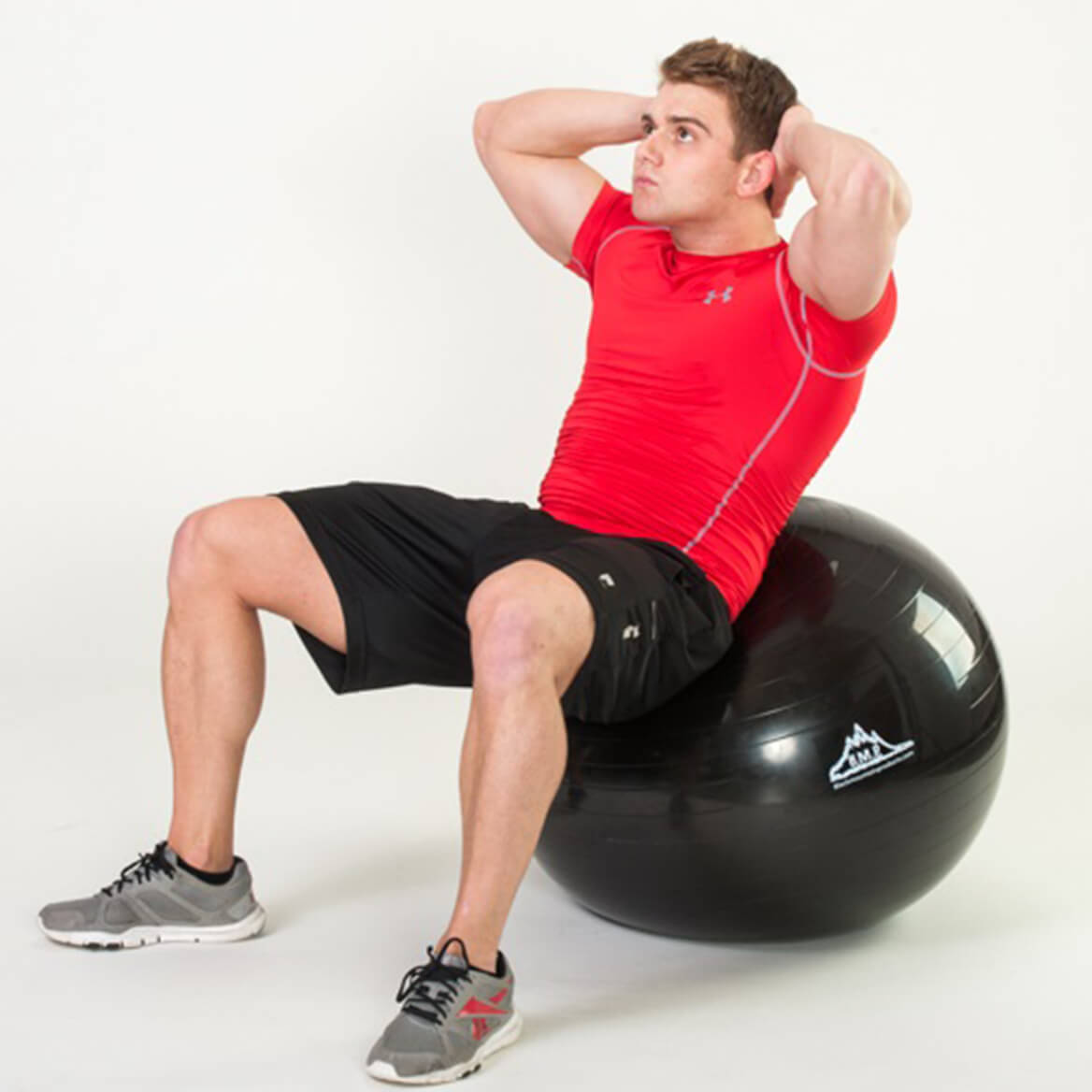 Professional-Grade, Anti-Burst Stability Ball with Pump-354757