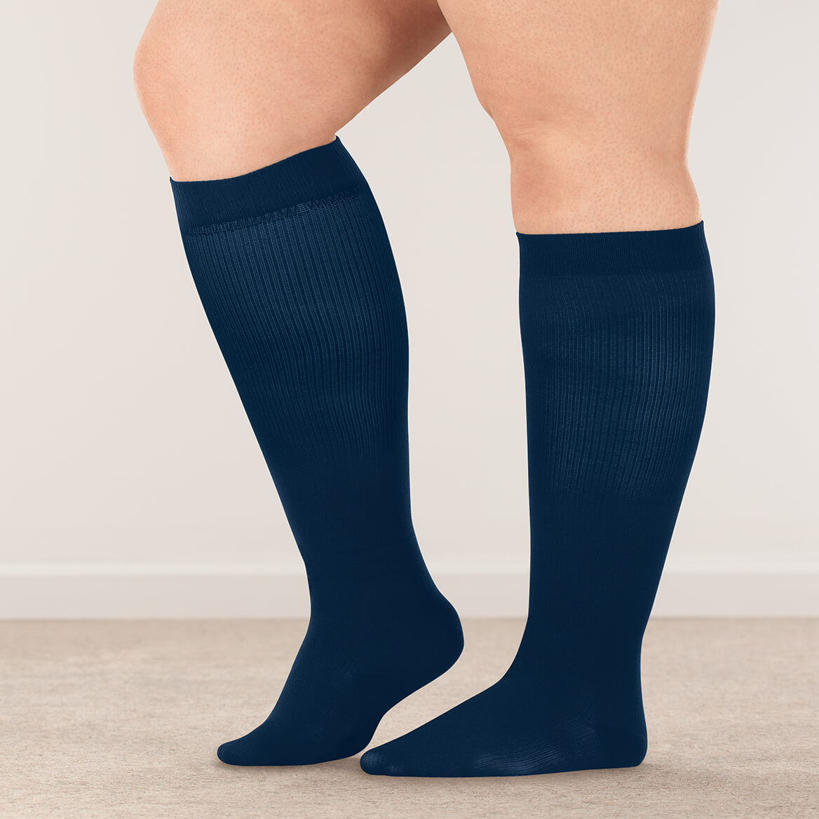 Silver Steps™ Wide Calf Compression Socks, 8–15 mmHg-358893