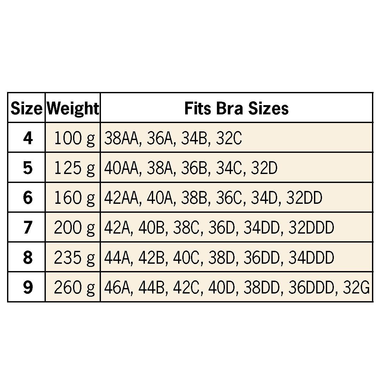 Silicone Triangle Breast Form, 1 Form-360140