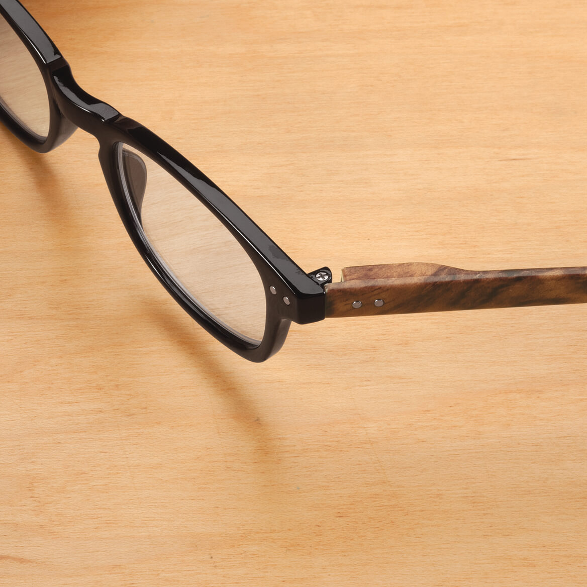 Reading Glasses with Wood Grain Bows, 2 Pair-361737