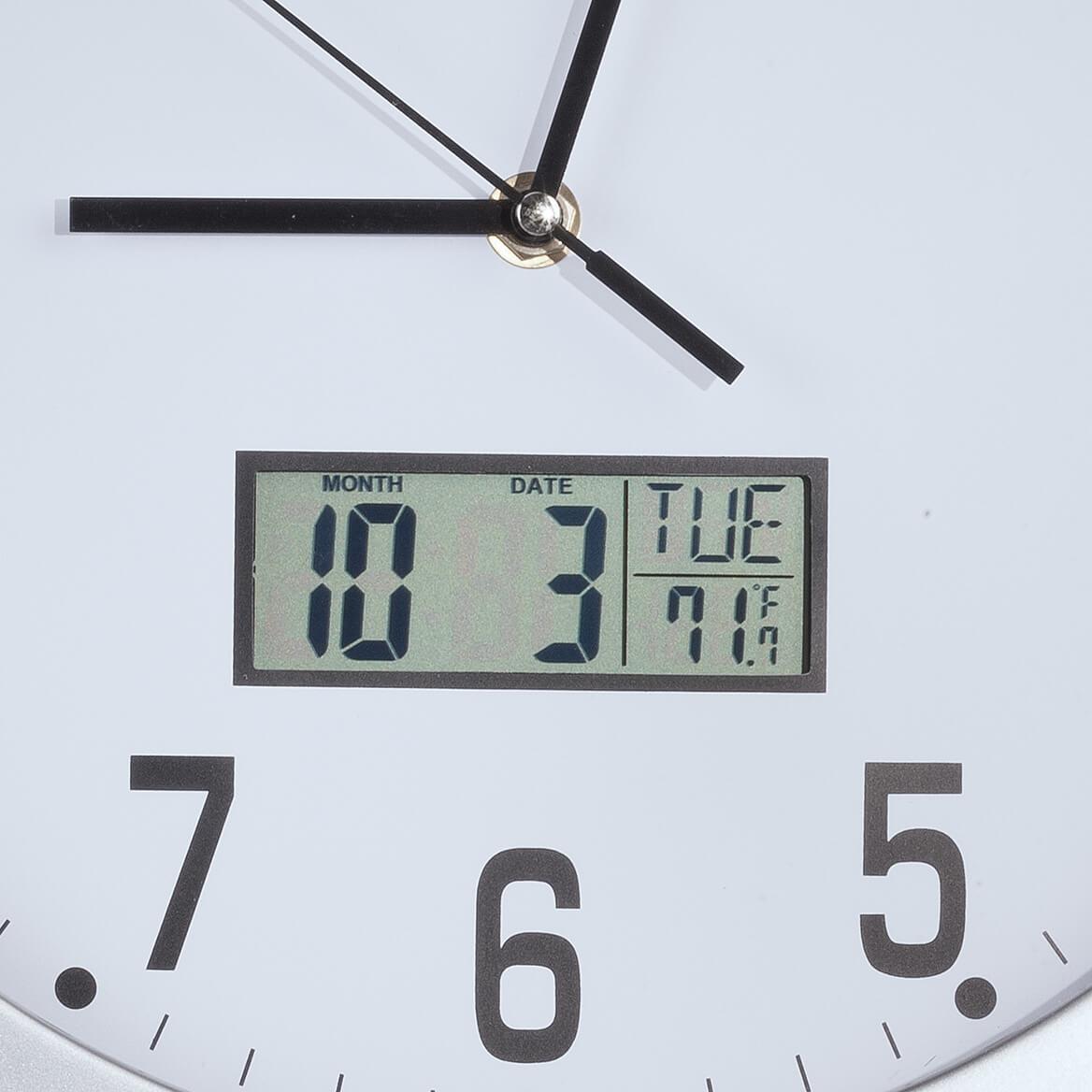 "Easy-Read 12"" Multifunction Wall Clock-362364"
