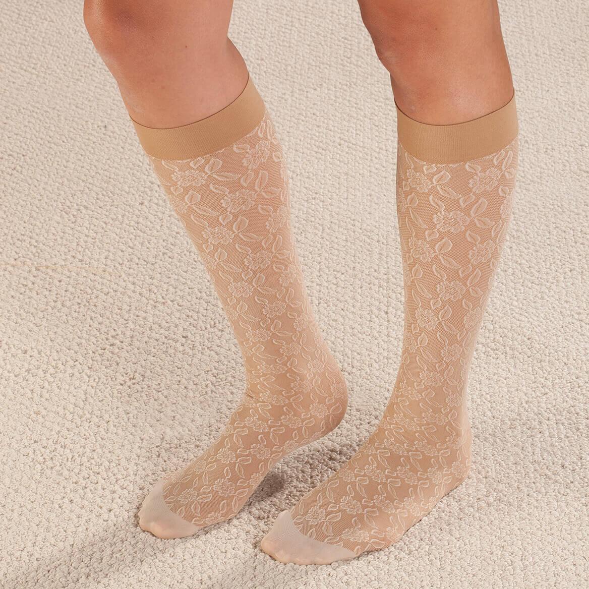 Celeste Stein Lace Compression Socks, 8-15 mmHg-362443