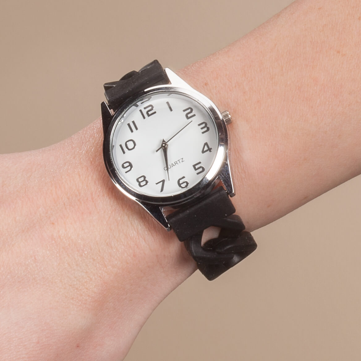 Watch with Silicone Band-363491