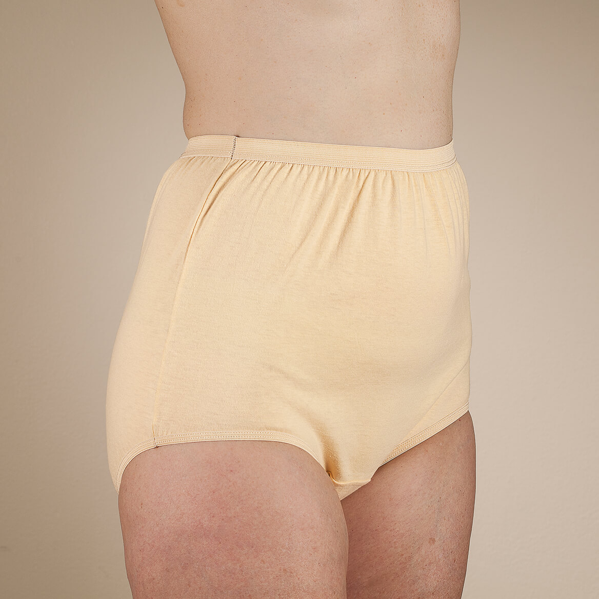 Easy Comforts Style™ Classic Cotton Briefs, 4 Pack-364814