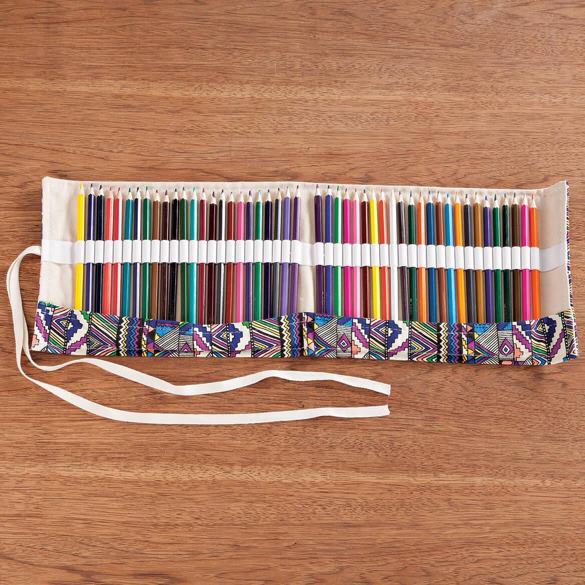 Colored Pencil Roll, 48-Piece Set-366985