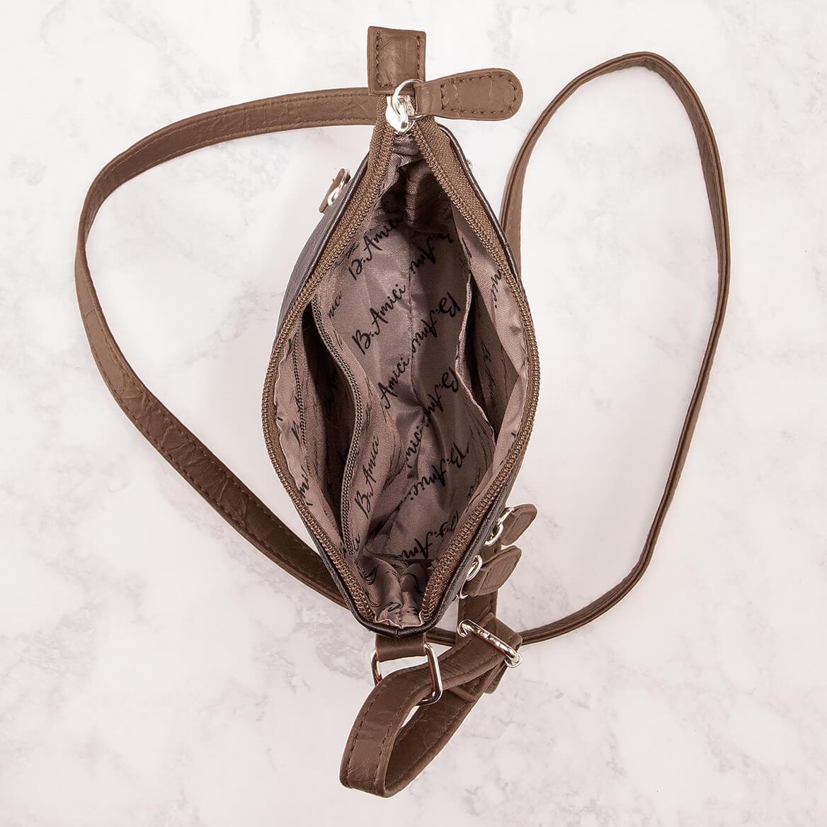 B.Amici™ Bianca RFID Leather Crossbody Bag-367445