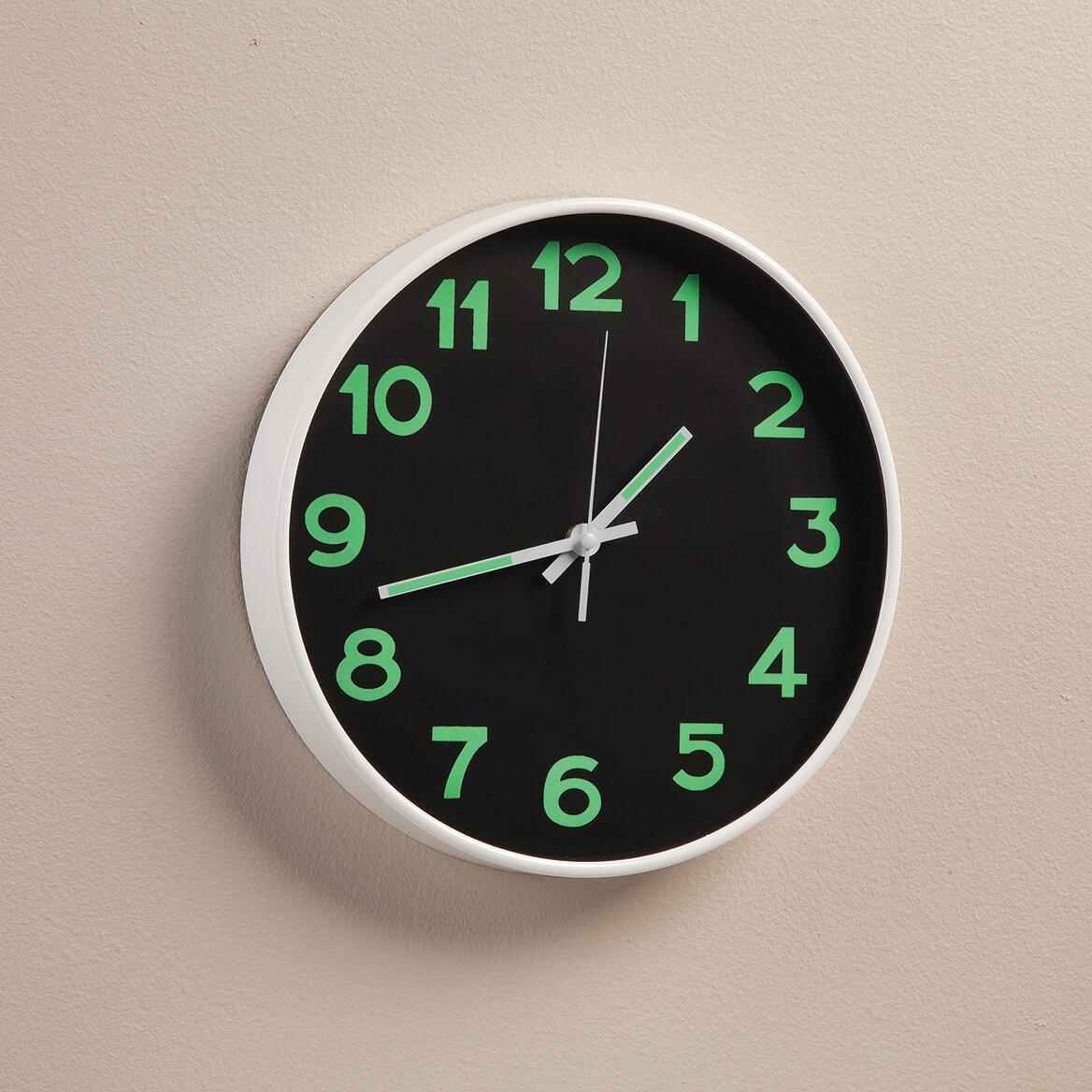 Glow-in-the-Dark Wall Clock-367456