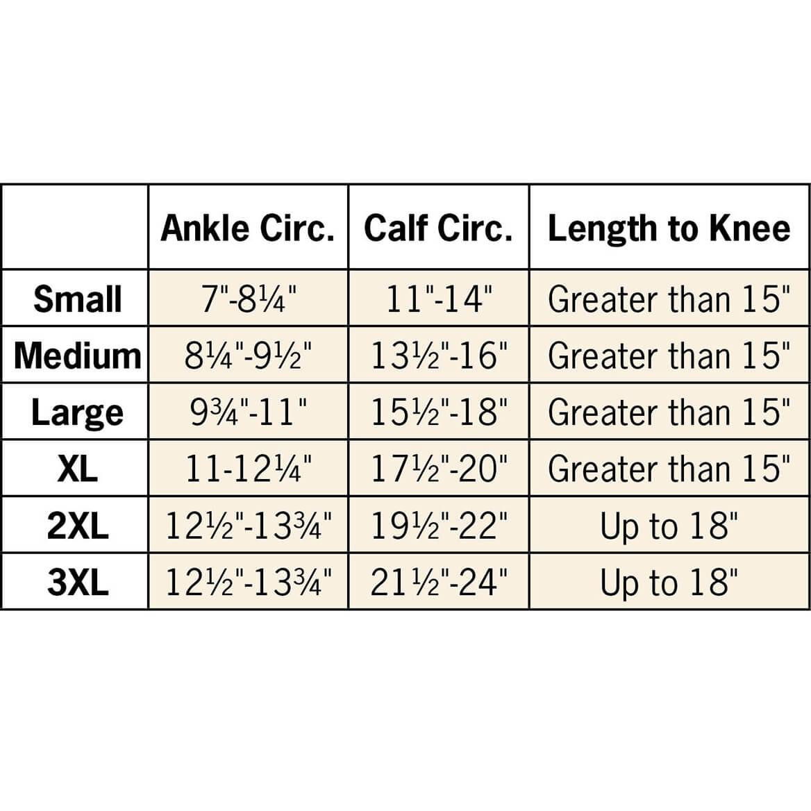 Silver Steps™ Anti-Embolism Knee-High Closed Toe Stockings-368290