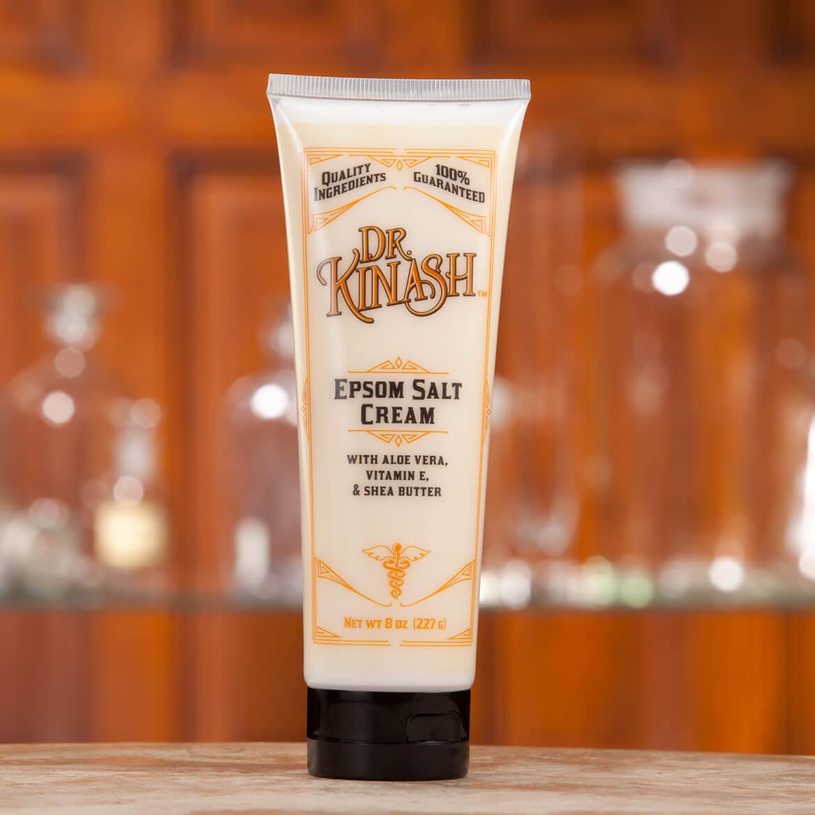 Dr. Kinash™ Epsom Salt Cream 8 oz. and Epsom Salt Rub 6 oz.-368914