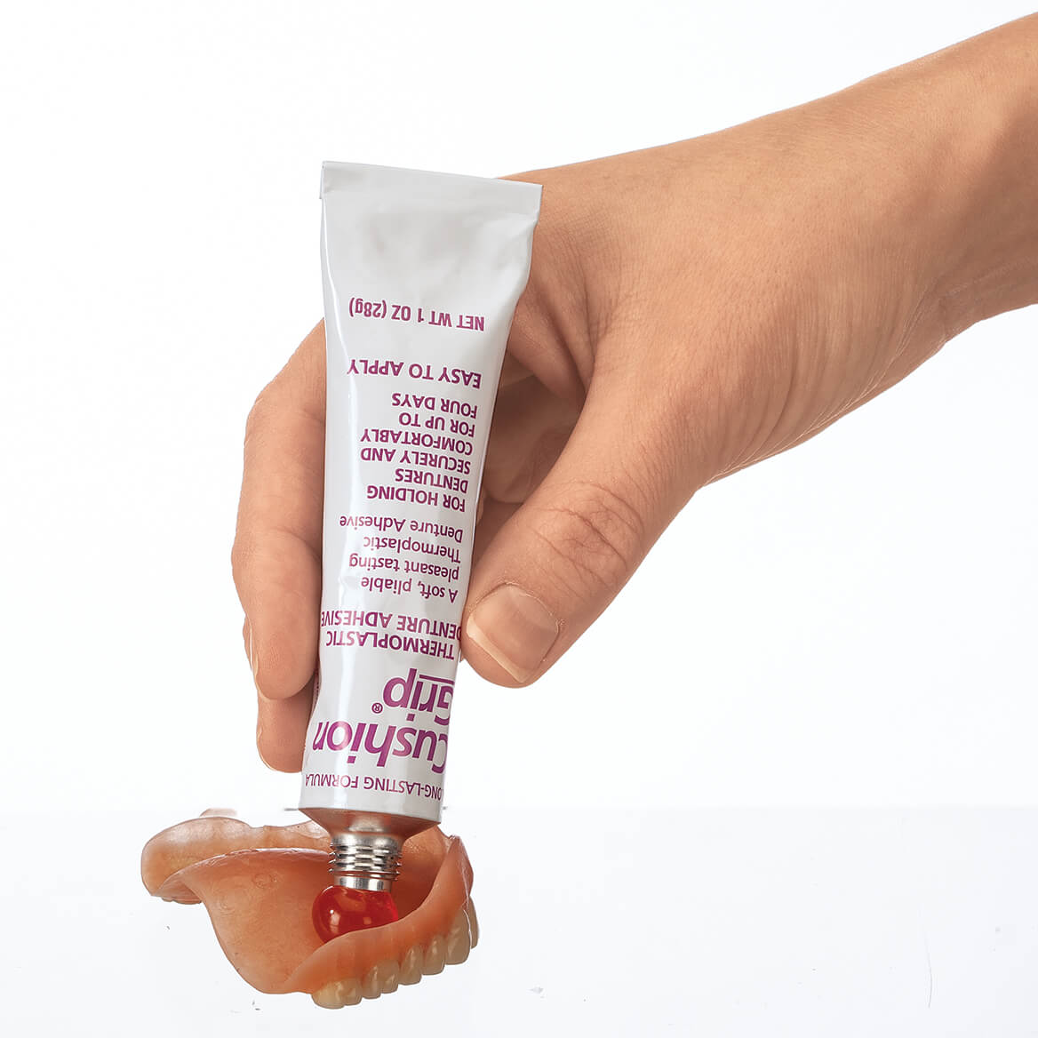 Cushion Grip® Thermoplastic Denture Adhesive-369386