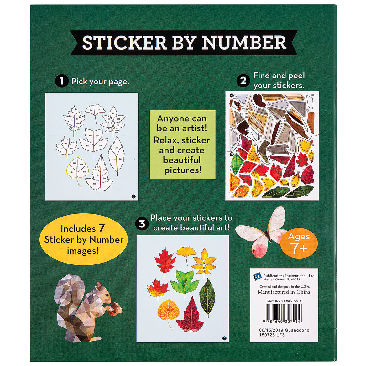 Brain Games® Sticker-By-Number Great Outdoors Books-369394