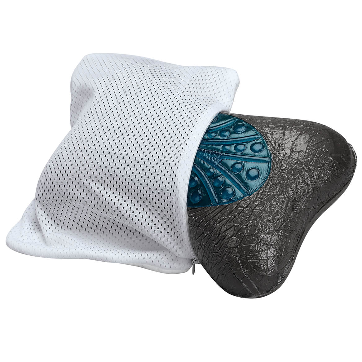 Charcoal Infused Bone-Shaped Pillow-369601