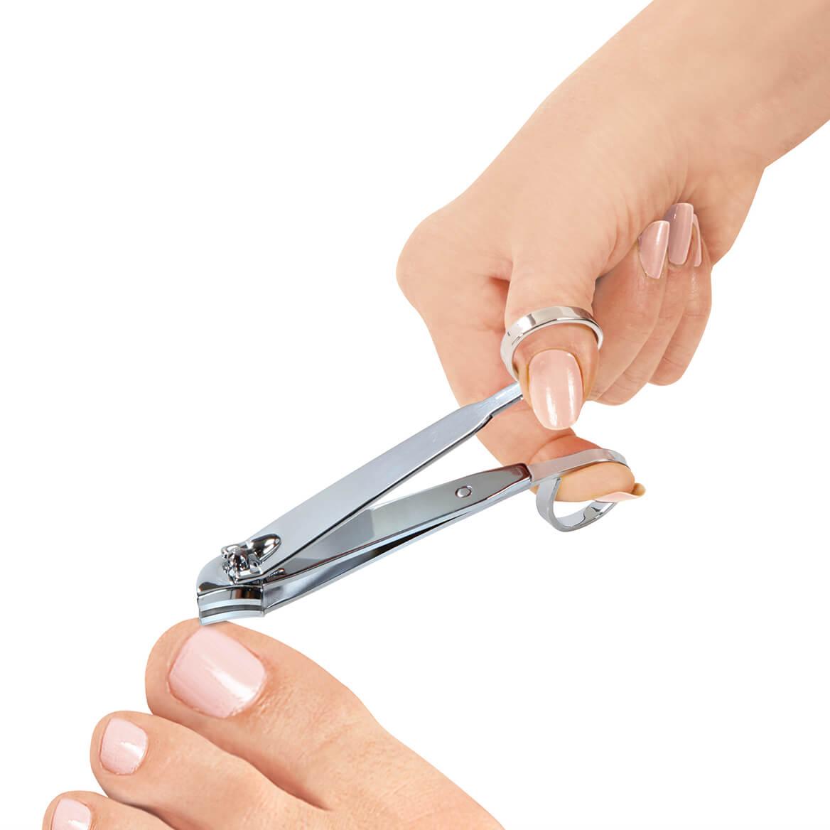 EZ Grip Side Cut Toenail Clippers-370150