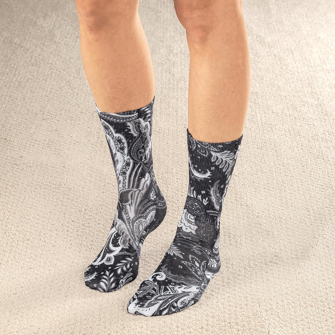 Celeste Stein Women's Diabetic Crew Socks 1 Pair-370606