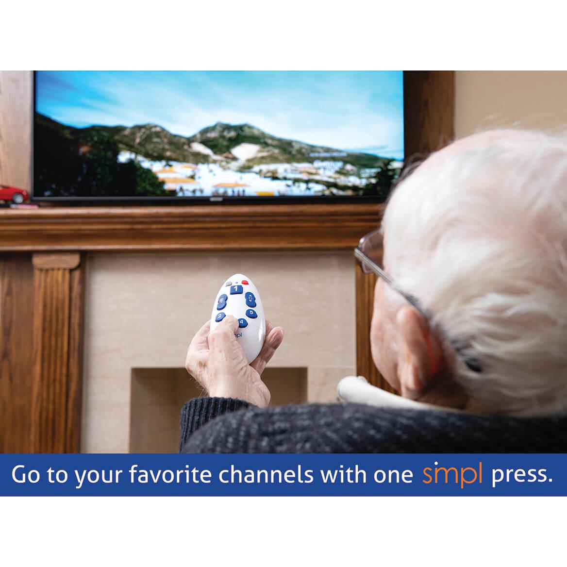 Simpl™ Universal TV Remote-371130