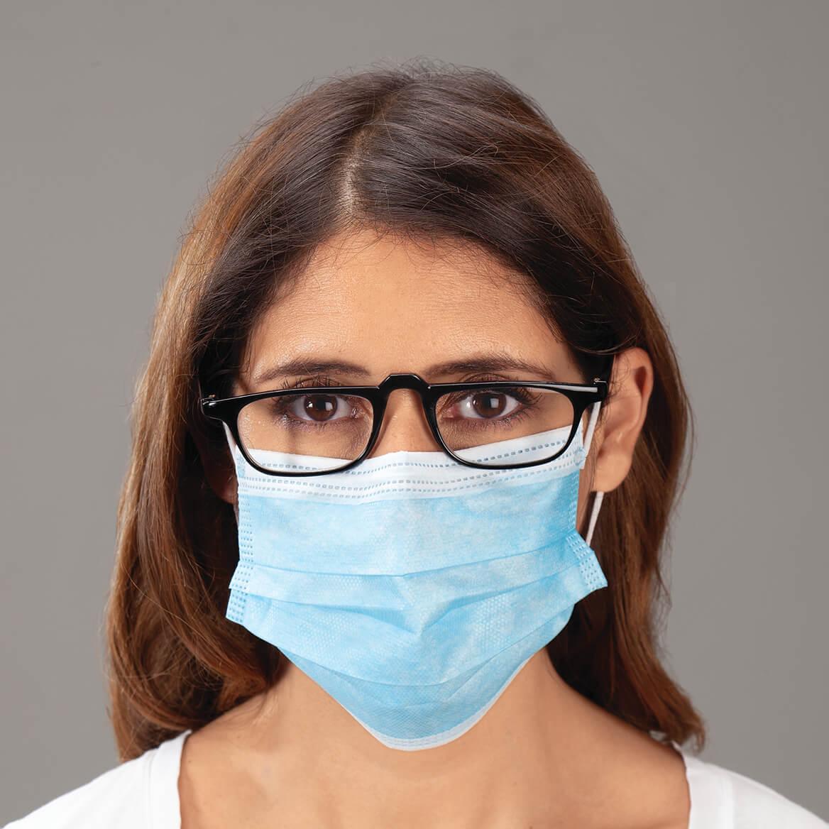 3-Ply Disposable Masks, Set of 50-371156