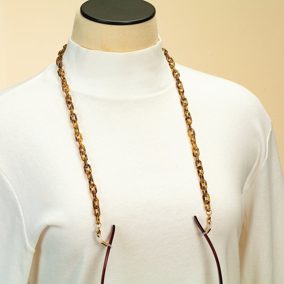 Tortoise Eyeglass, Necklace or Mask Chain-371697