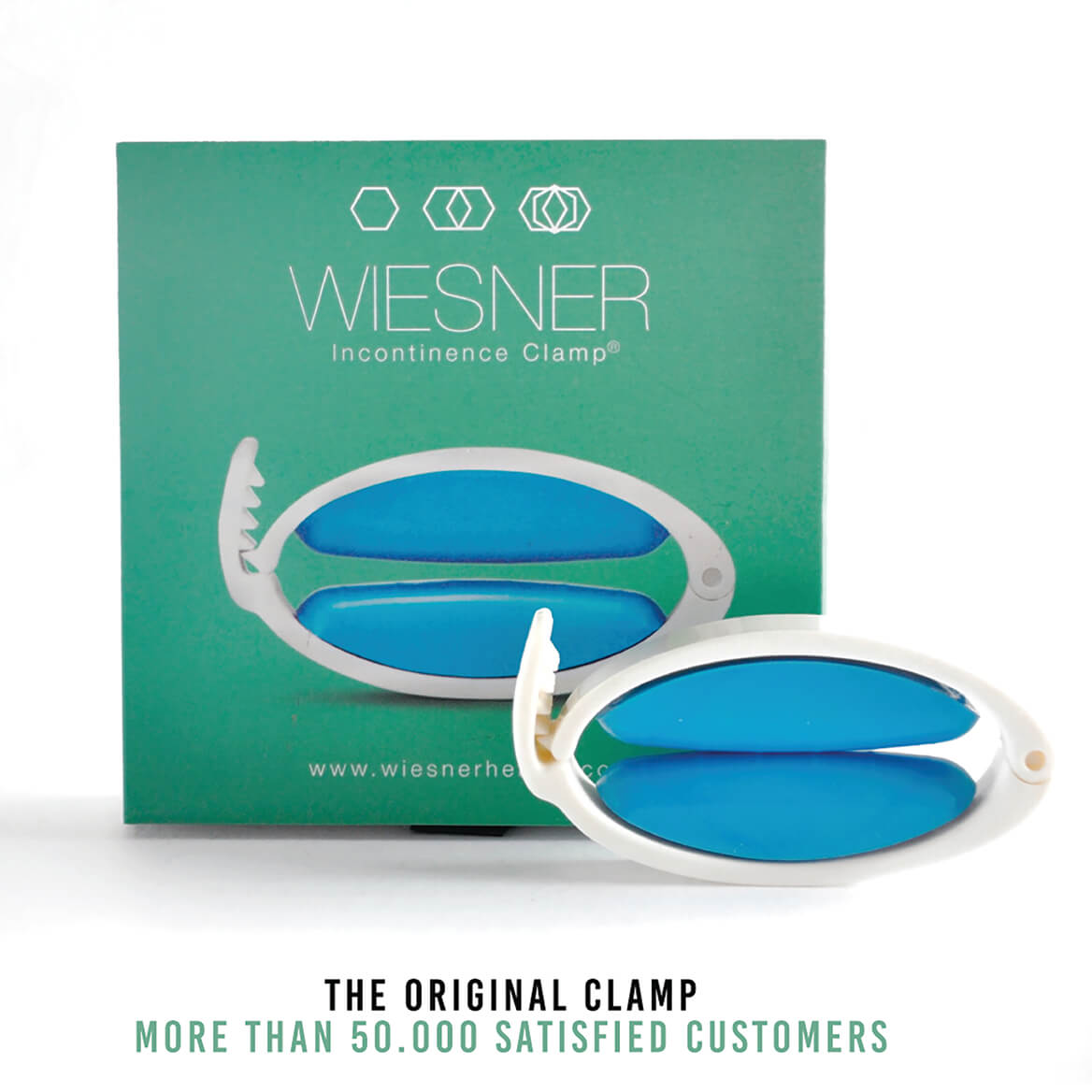 Wiesner Male Incontinence Clamp-371735
