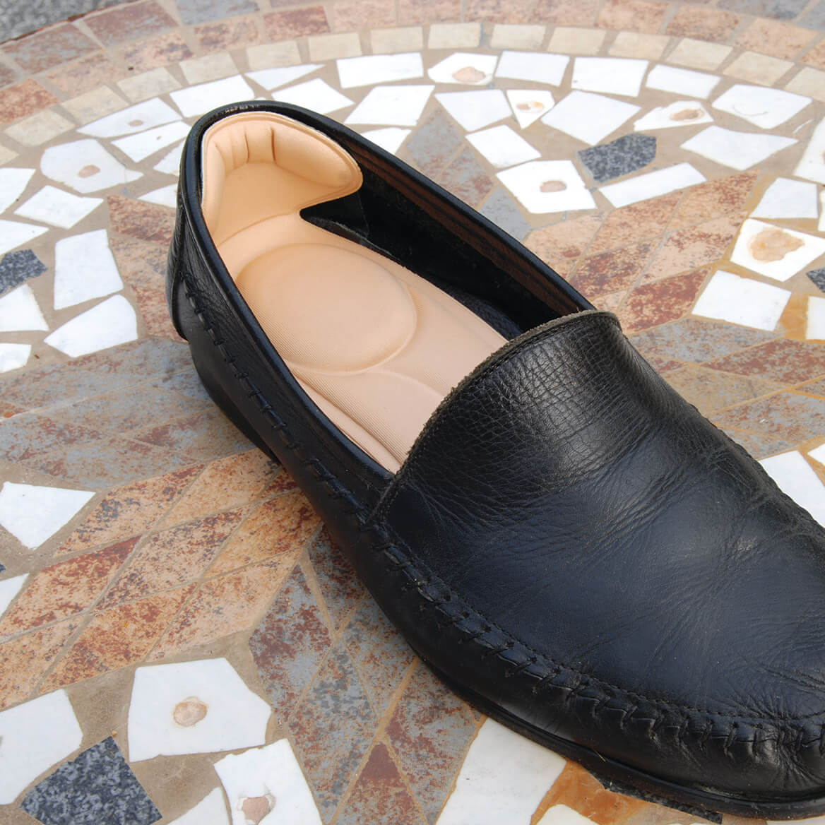 Comfort Insoles with Heel Pads-371742