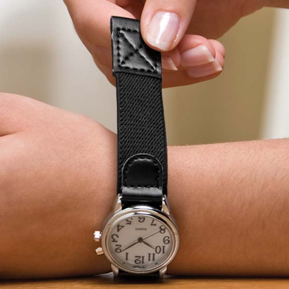 Self-Fastening Wristwatch