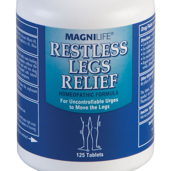 MagniLife® Restless Leg Relief - 125 Tablets - View 1