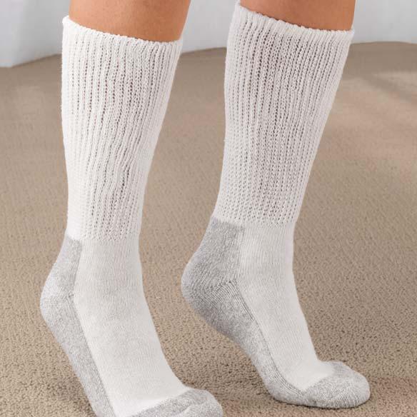 Women's Diabetic Socks - 2 Pair - View 1