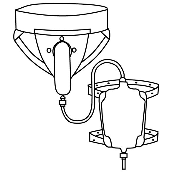 Suspensory Urinal - View 2