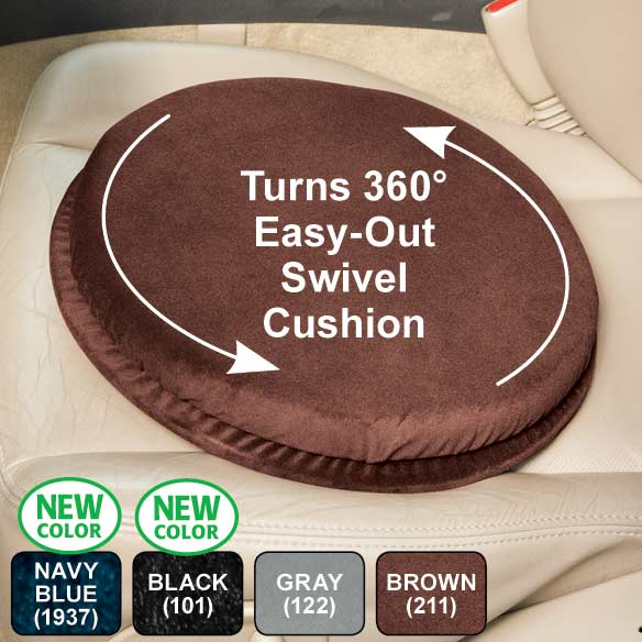 Swivel Car Seat Cushion - View 1